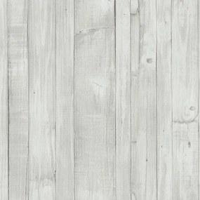 Vliesové tapety, drevené dosky vintage biele, Origin 4210420, P+S International, rozmer 10,05 m x 0,53 m