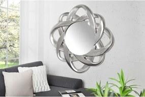 Zrkadlo 35738 Ø90cm Strieborné -Komfort-nábytok