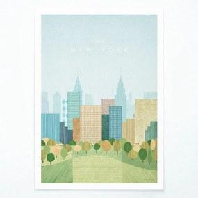 Plagát Travelposter New York II, A3
