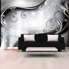 Fototapeta Bimago - Grey wall + lepidlo zadarmo 250x175 cm