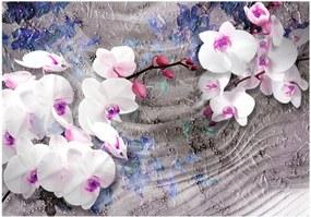 Murando DeLuxe Orchidej a umění ll. 150x105 cm