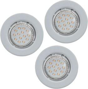 Eglo Eglo 93227 - SADA 3x LED Podhľadové svietidlo IGOA 3xGU10/3W/230V EG93227
