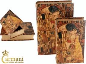 Šperkovnica veľká Gustav Klimt The Kiss, CARMANI