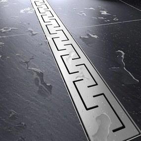 MAXMAX Sprchový žľab GREEK 50 - 100 cm