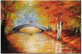 Tlačený obraz Po jesennom moste 2437A_1T