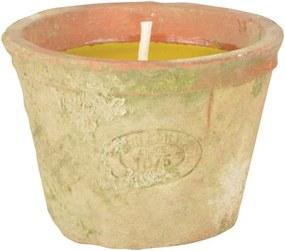 Sviečka s vôňou citronely Esschert Design, doba horenia 10 hodín