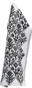Utierka Kukat 48x70, bielo-čierna Lapuan Kankurit