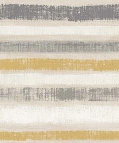 Arthouse Tapeta na stenu - Painted Stripe Painted Stripe Ochre