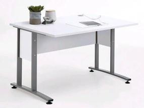 Písací stôl Calvia 1, biela