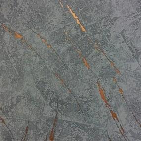 Vliesové tapety, omietkovina sivo-modrá, La Veneziana 3 57926, MARBURG, rozmer 10,05 m x 0,53 m