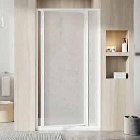 Sprchové dvere Ravak Supernova jednokrídlové 100 cm, nepriehľadný plast, biely profil 03VA010011