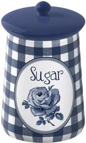 Keramická dóza na cukor Creative Tops Vintage Indigo, ⌀ 9 cm