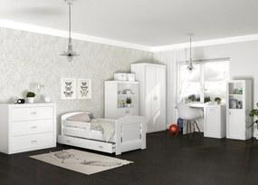 GL Detská izba Jakub COLOR 160x80 - biela