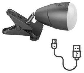 Immax LED Lampička KLIP s USB nabíjaním LED/5W/5V 4000K IM0713