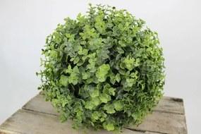 Zelená umelá eukalyptová guľa 30cm