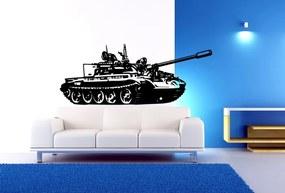 Xdecor Tank (60 x 24 cm) - Samolepka na stenu