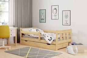 HALMAR Marinella 80 drevená posteľ s prísteľkou prírodná