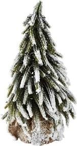 Dekoratívna soška KJCollection Snowy Tree, 27 cm