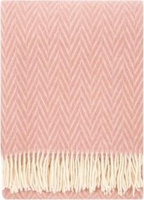Vlnená deka Iida 130x200, ružová Lapuan Kankurit