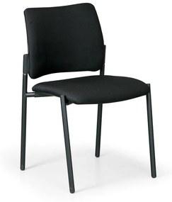Antares Konferenčná stolička Rocket bez podpierok, čierna