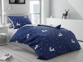 Bavlnené obliečky Randus modré