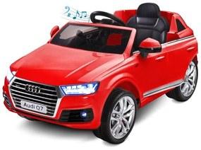 TOYZ Toyz Audi Elektrické autíčko Toyz AUDI Q7-2 motory red Červená |