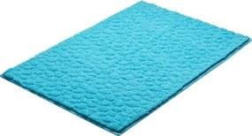 Kúpeľňová predložka Grund Stela 90x60 cm modrá SIKODGSTE605