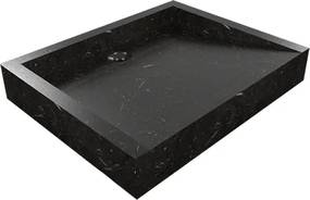 Umývadlo z prírodného kameňa Belua Black