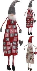 Adventný kalendár textil 25049