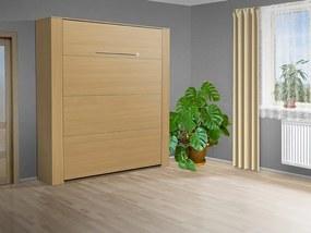 Nabytekmorava Výklopná posteľ VS 3070P, 200x180 cm nosnost postele: štandardná nosnosť, farba lamina: buk 381