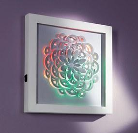 LED obraz Kvet