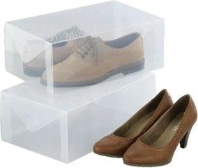 Sada 2 úložných boxov na topánky Wenko Pack