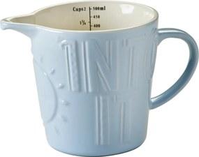 Kameninová odmerka MasonCash Bake My Day Blue, 0,5 l