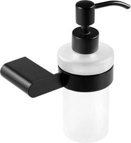 Novaservis Titania Naty 66655,5 dávkovač mydla, čierny