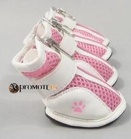 PETOP Priedušné ružové topánky Harry pre psov 4XL
