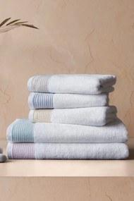 Soft Cotton Osušky MOLLIS 75x150 cm Žltá