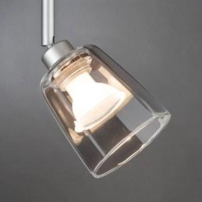 Paulmann sklenené tienidlo Vico Ø 8cm číre