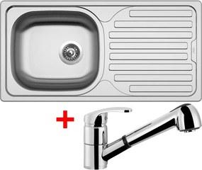 Set Sinks CLASSIC 860 V matný + batéria LEGENDA S