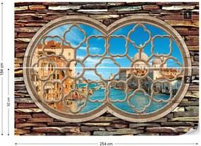 Fototapeta GLIX - Venice Canal 7 + lepidlo ZADARMO Vliesová tapeta  - 254x184 cm
