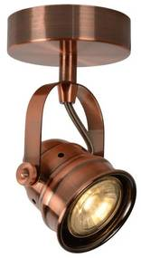 Lucide Lucide 77974/05/17 - LED bodové svietidlo CIGAL 1xGU10/5W/230V medená LC0477