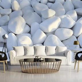 Fototapeta - White Pebbles 400x280