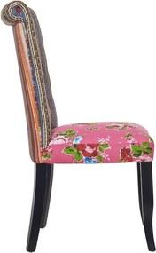 Butlers PATCH Patchwork stolička - ružová