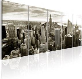 Obraz - Grey Manhattan 225x90