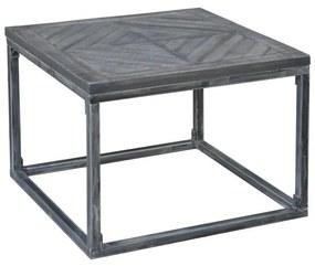 Odkladací stolík Allen Home, 60 cm, sivé mango