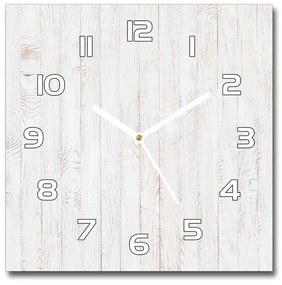 Sklenené hodiny štvorec Drevené pozadie pl_zsk_30x30_f_127568738