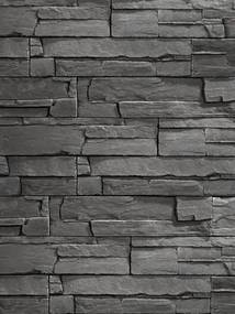 Imitácia kameňa obklad KRX08 Segment 39,5x9,5cm šedá