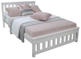 MD Manželská posteľ Keyla - biela Rozmer lôžka: 160x200