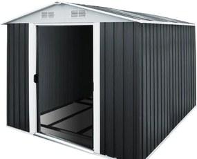 Záhradný domček - 312 cm x 257 cm x 177,5 cm - čierna