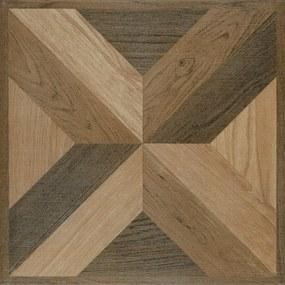 Dlažba Multi Versailles brown 42x42 cm mat VERSA42