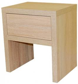 Ahorn ZÁSUVKA -  nočný stolík dekor dub čierny